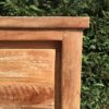 Chester Cabinet Oud Teak Staal 130cm