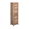 Chester Cabinet Oud Teak Staal 50cm