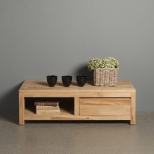 Leeds Tv Meubel Teak Natural 120cm