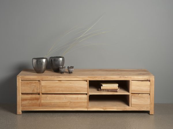 Leeds Tv Meubel Teak Natural 170cm