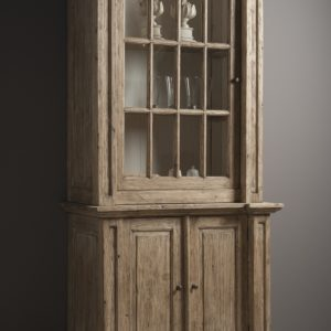 Oxford Vitrinekast Landelijk gerecycled grenen 105cm