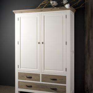 Maison White Antique Cabinetkast Eiken 140cm