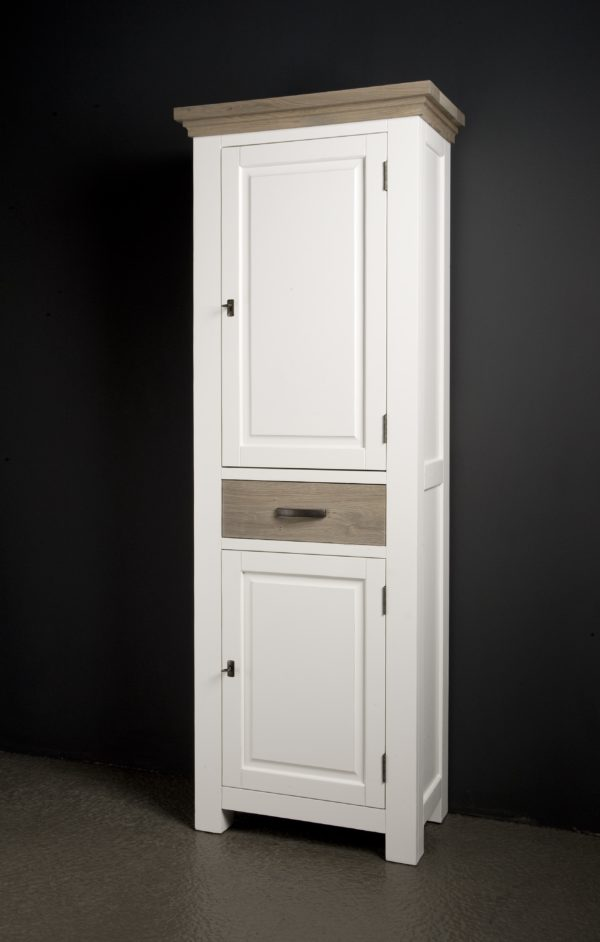 Maison White Antique Opbergkast Eiken 70cm