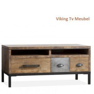 Viking Tv Meubel Hufterproof staal 117cm