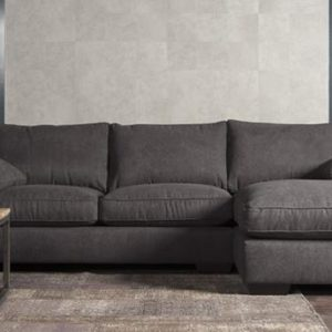 Firenca Loungebank stof 3 zits + Longchair L
