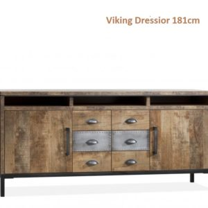 Viking Dressoir Hufterproof Staal 181cm