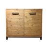 Bolton Cabinetkast Acasia Industrieel 2 Deurs 112 cm
