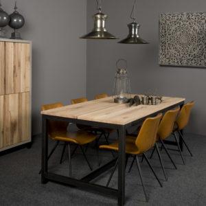 Preston Dinning Tafel Eikenhout 220 cm