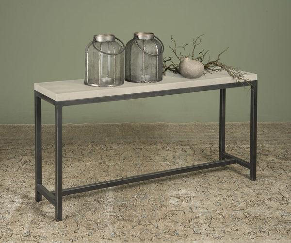 Breton Side-tafel Beton Met Staal 1435 cm