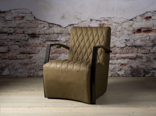 Coffee-chair Max Leer Vintage Brown