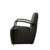 Coffee-chair Max Leer Vintage Antraciet