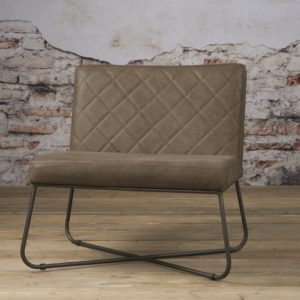 Rodeo Coffee-chair echt leder Danza Taupe