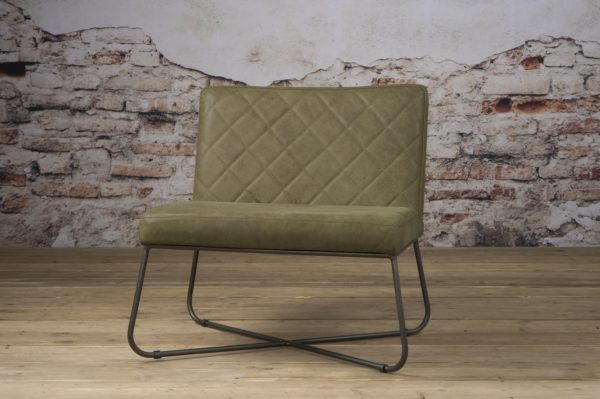 Rodeo Coffee-chair echt Leder Olive