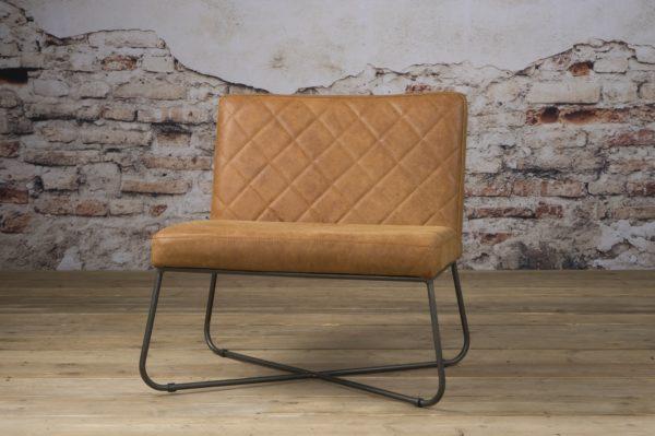 Rodeo Coffee-chair echt Leder Rust