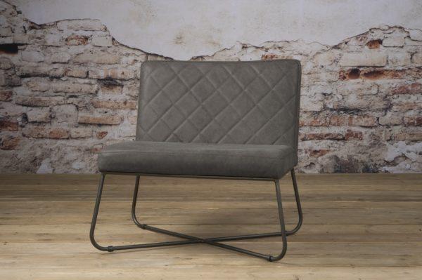 Rodeo Coffee-chair echt Leder Stone