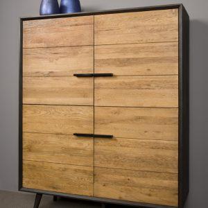 Rimini Cabinet Retro Eikenhout 130 cm