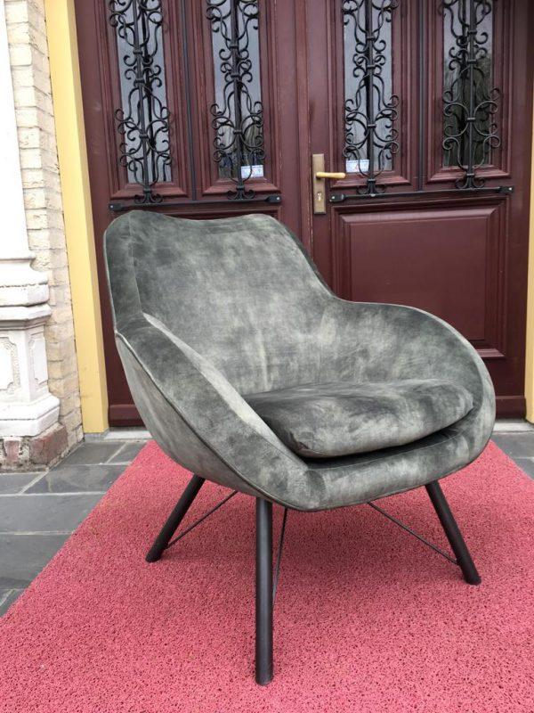 Fauteuil Maastricht Stof Adore 156 Velvet Green