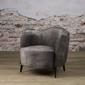 Fauteuil Bella Coffeechair Bliss Dark Grey