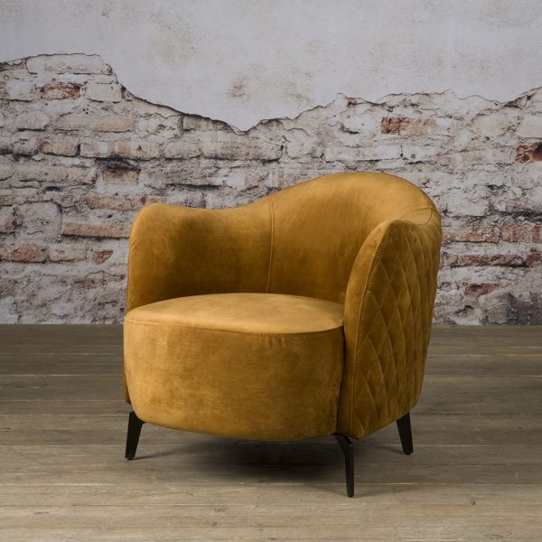 Fauteuil Bella Coffeechair Bliss Gold