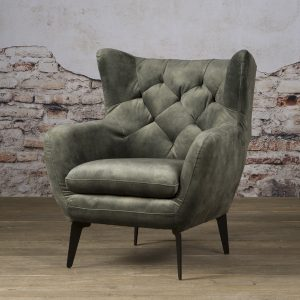 Fauteuil Britt Coffeechair Bliss Dark Green