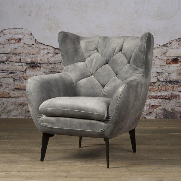 Fauteuil Britt Coffeechair Bliss Grey