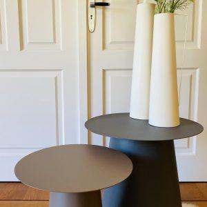 Sofa Table Tierra Earth Metal Rond
