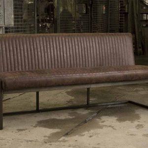 Eettafelbank Ferro Dark Brown 135cm